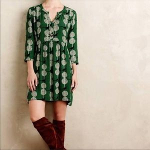 Anthropologie Maeve Devery Dress. EUC.